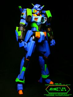 MG 1/100 Gundam AGE-1 Spallow Ver.EVA. Modeled by Lean Bacalzo
