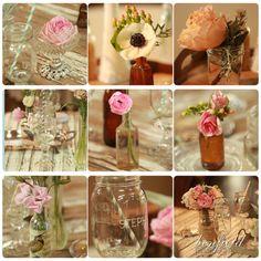 Joli mariage rustique – tables