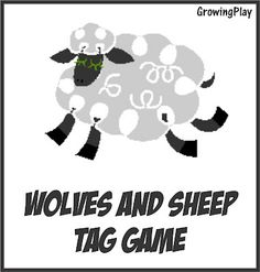 """Simple game of outdoor tag - Wolves and Sheep.  Just need some open space and a few kids.      Easier than Right Light, Green Light and so much less arguing (""""you moved...no I didn't...yes you did"""")  and cheating (""""you are looking"""")"""