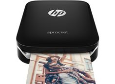 HP Sprocket Photo Printer (Black) - HP Store UK