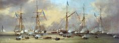 The Battle of Lake Borgne.  It occurred on 14 December 1814 on Lake Borgne and was part of the British advance on New Orleans.