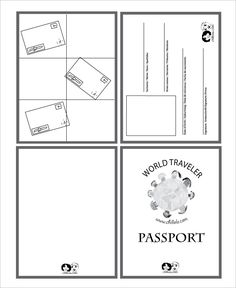 Passport Template – 19+ Free Word, PDF, PSD, Illustrator Format Download! | Free & Premium Templates