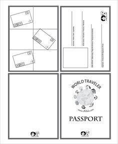 Passport Template – 19+ Free Word, PDF, PSD, Illustrator Format Download! | Free & Premium Templates