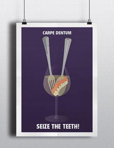 Mrs Doubtfire - Teeth movie poster by Meet Me In Shermer