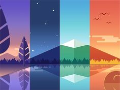 Graphic Design Trends, Ideas and Predictions for 2020 – ColorWhistle Bold Colors, Colored fonts, Photography based on Moods Flat Design Illustration, Graphic Illustration, Graphic Art, Graphic Design Trends, Graphic Design Inspiration, Vector Design, Vector Art, Game Design, Design Art