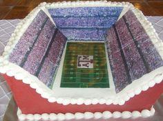 Texas A football stadium cake!