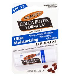 Palmers Cocoa Butter Formula Original Ultra Moisturizing Lip Balm with SPF 15 4g - Boots