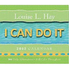 I Can Do It 2012 Calendar: 366 Daily Affirmations $13.95