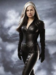 Although most of Rogue scenes were cut from 'X-Men: Days of Future Past' it looks as though the Marvel mutant will appear on the Blu-ray edition's extended cut. Marvel Dc, Marvel Comics, Heros Comics, Marvel Girls, Super Heroine, Leather Catsuit, Actrices Sexy, Leder Outfits, Days Of Future Past