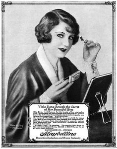 243 Best 1920s 1950s Cosmetics Hair Ad Images Vintage Beauty - 1920s-makeup-ads