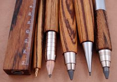 Wooden Writing Utensils