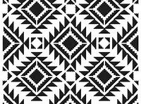 TCW Crafters Workshop 6 in Stencil Mask Template Mini RUG Aztec, Native American Mixed Media New for 2015 by SeptemberPlayground on Etsy Ski Lodge Decor, Moroccan Wall Stencils, Crochet Doily Rug, Geometric Pattern Design, Pattern Designs, Stencil Designs, Stencil Templates, Painting Patterns, Custom Art