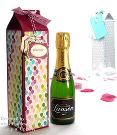 Pootles Stampin Up UK Champagne Box 3