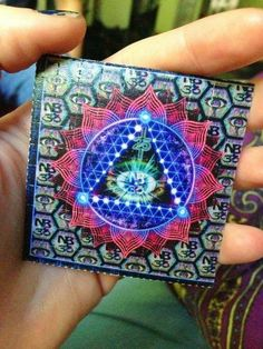 fuck dude, coool blotter indeed! #lsd #acid