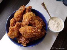 Aripioare de pui crocante gen KFC (6)