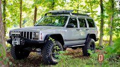 Jeep Cherokee For Sale, 2001 Jeep Cherokee, Jeep Cherokee Sport, Modificaciones Jeep Xj, Jeep 4x4, Jeep Truck, Jeep Xj Roof Rack, Hunting Trailer, Jeep Garage