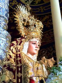 María Santísima de la Victoria (Hermandad de las Cigarreras). Sevilla (Spain)