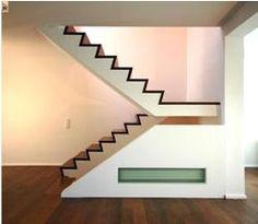 Beton-Holztreppe Nr. 7