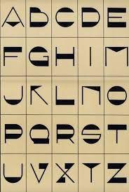 Resultado de imagem para alfabeto art deco numeros