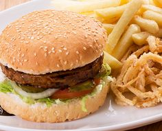 Soya Burger: Great meat alternative! Soya Burger patty – grilled and basted. Read more: https://www.spur.co.za/menu/burgers/