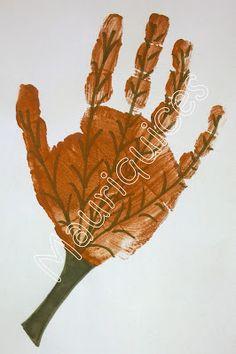 Mauriquices: A folha na palma!