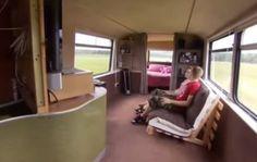 Couple Build Debt Free Double Decker Bus Home