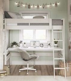 Harlan Loft Bed White Dorel Living is part of Kids loft beds Valued by parents for the compact footprint and beloved by teens for the fun factor, the Dorel Living Harlan Loft Bed with Desk offers a - Dorel Living, Girls Loft Bed, Bed For Girls Room, Bedroom Design, Bedroom Decor, Girl Room, Small Room Design, Room Design, Kids Loft Beds