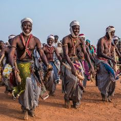 Bariba Dancers, Fete de Ganni, Nikki, Benin.