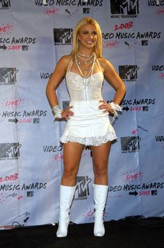 2003 - THE MTV VIDEO MUSIC AWARDS in New York City #britneyspears