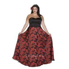 1849db1231 Sydney s Closet SC7215 Plus Size Gowns Formal