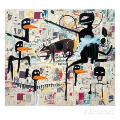 Tenor, 1985 Giclee Print by Jean-Michel Basquiat at AllPosters.com