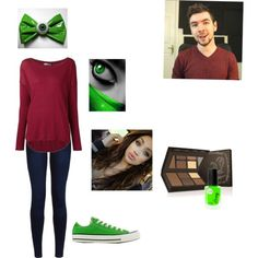 Jacksepticeye inspired  by keltsywilliams on Polyvore featuring polyvore, fashion, style, Vince, Urban Bliss, Converse and Laura Mercier