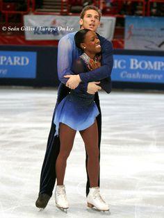 Vannesa James y Morgan Cipres Championship Figure Skating Couple
