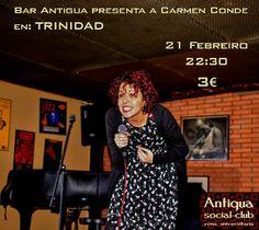 Trinidad @ Café Antigua - Ourense escea monólogo comedia Carmen Conde