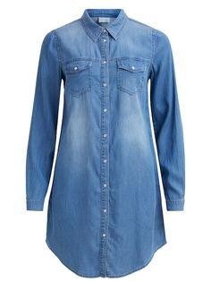 a867f35248 VILA Ingruhák kék farmer színben, rendelj az ABOUT YOU-n online. ✓Ingyenes  szállítás ✓Utánvétes fizetés ✓Ingyenes visszaküldés