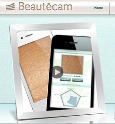 beautecam cosmeceutical app dematology skin