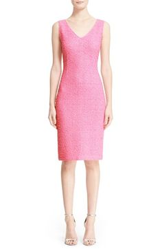 St. John Collection 'Mariona' Knit Sheath Dress available at #Nordstrom