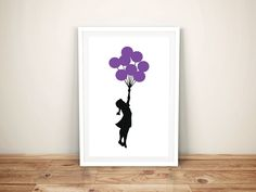 Buy Girl with Balloons Banksy Framed Wall Art. This Girl with Balloons is a rework of a Banksy original. If you love Banksy then check out our collection. Banksy Canvas Prints, Banksy Wall Art, Graffiti Murals, Wall Art Prints, Framed Prints, Frames On Wall, Framed Wall Art, Canvas Frame, Canvas Art