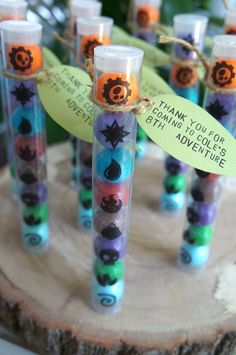 Skylanders Party Favors Element Stickers by lulucole on Etsy
