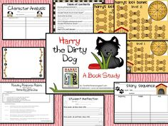 Harry The Dirty Dog Activities | Tunstall's Teaching Tidbits: Harry the Dirty Dog