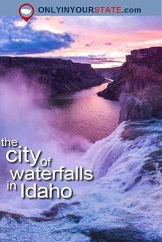 City Of Waterfalls Right Here In Idaho And It'll Take Your Breath Away - Next Destination Unknown Idaho Springs Colorado, Idaho Hot Springs, Colorado Hiking, Idaho Falls, Cool Places To Visit, Places To Travel, Travel Destinations, Cour De Lane Idaho, Ecuador