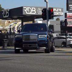 Luxury Rolls Royce Cullinan Spotted