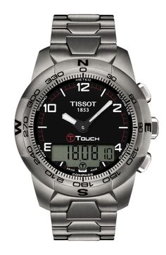 The latest generation of Touch Technology equips the core models of this collection which is highly demanded with some great high-tech equipment. Rubbing shoulders with professional sports instruments in terms of functionality, the Tissot T-Touch II combines stylish design with excellent performance. The compass and weather forecast function along with altimeter and a water resistance of up to a pressure of 10 bar (100 m / 330 ft) ensure that this watch is the right partner to accompany you…