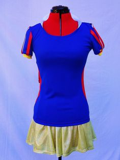 SNOW WHITE inspired running outfit