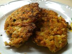 FOTORECEPT: Kapustovo-mrkvové placky Meatloaf, Mashed Potatoes, Cauliflower, Chicken, Vegetables, Ethnic Recipes, Food, Hampers, Kitchens