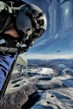 clemente3000:  A Norwegian Air Force F-16 pilot practicing basic fighting maneuvers over Norway.