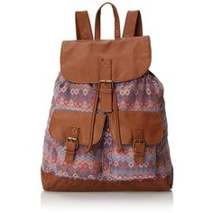 T-Shirt & Jeans Multi Printed Backpack