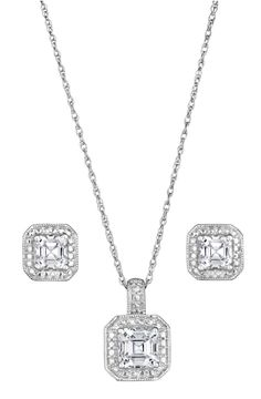 3-pc. diamond accent jewelry set.  Would look great with my engagement ring!