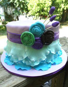 Baby Girl First Birthday Smash Cake  https://www.facebook.com/SweetestRevenge09/photos_stream