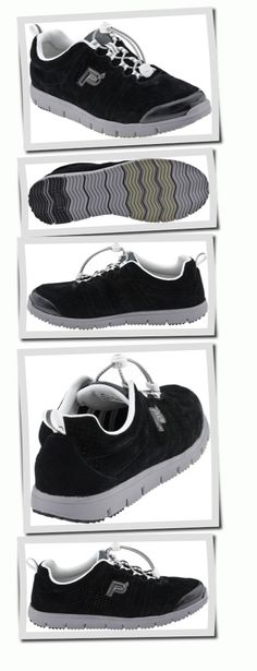 For my mom with arthritic, narrow feet - Propet Travel Walker Suede from www.planetshoes.com
